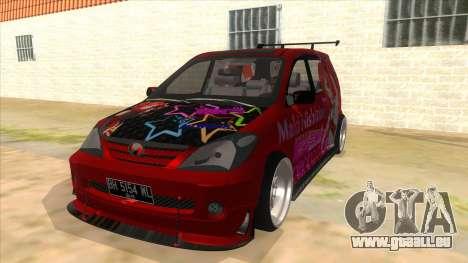Toyota Avanza R9 Exhaust Nishikino Maki Itasha für GTA San Andreas