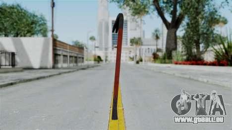 GTA 5 Crowbar pour GTA San Andreas troisième écran
