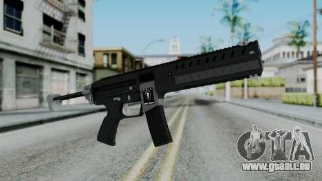 GTA 5 Combat PDW - Misterix 4 Weapons für GTA San Andreas
