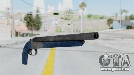Double Barrel Shotgun LSPD Tint (Lowriders CC) pour GTA San Andreas