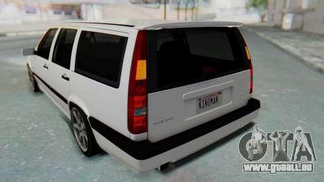 Volvo 850R 1997 Tunable für GTA San Andreas Motor
