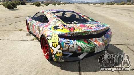 Stickerbomb Jester pour GTA 5