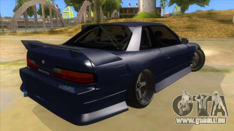 Nissan S13 Zenki pour GTA San Andreas vue de droite