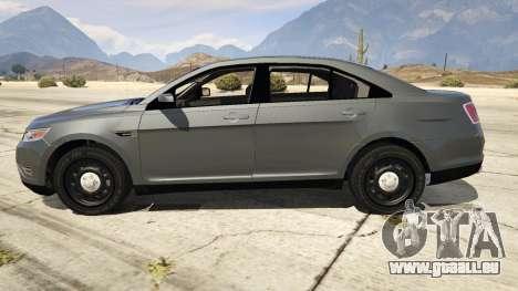 GTA 5 Ford Taurus linke Seitenansicht