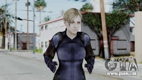 Jill Valentine Battlesuit Closed RE5 für GTA San Andreas