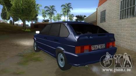 2114 un Peu Bq pour GTA San Andreas sur la vue arrière gauche