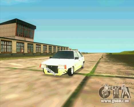 VAZ 2109 BUNKER für GTA San Andreas