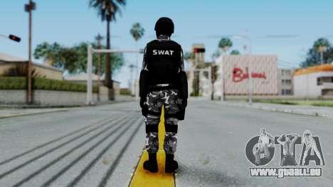 S.W.A.T v1 pour GTA San Andreas troisième écran