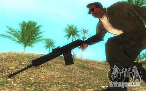 Saïga-12 Gauge pour GTA San Andreas troisième écran