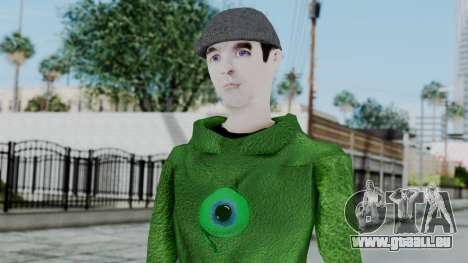 Jacksepticeye pour GTA San Andreas