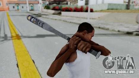 GTA 5 Baseball Bat 6 für GTA San Andreas dritten Screenshot