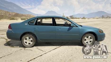 GTA 5 Chevrolet Impala linke Seitenansicht
