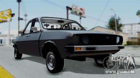 Dacia 1310 Double Version pour GTA San Andreas laissé vue