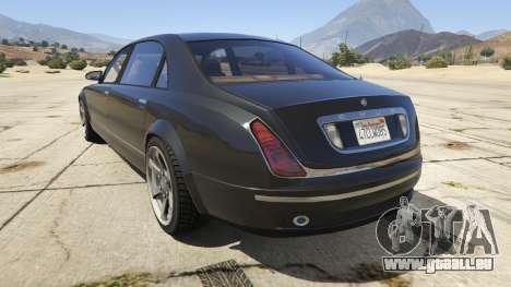 GTA 5 GTA 4 Enus Cognoscenti hinten links Seitenansicht