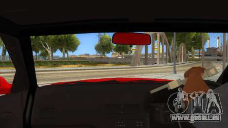 Nissan S13 Drift für GTA San Andreas Innenansicht