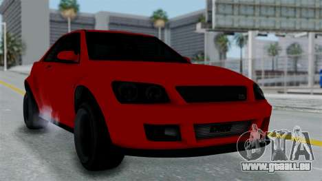 GTA 5 Karin Sultan RS Stock PJ für GTA San Andreas