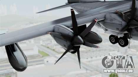 KC-130J Harvest Hawk pour GTA San Andreas vue de droite