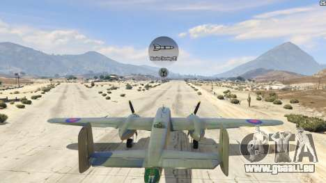 GTA 5 B-25 quatrième capture d'écran