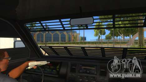GTA 5 Burrito Transport pour GTA San Andreas vue intérieure