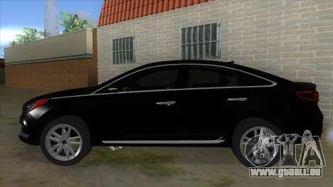 Iranian Hyundai Sonata Turbo für GTA San Andreas linke Ansicht