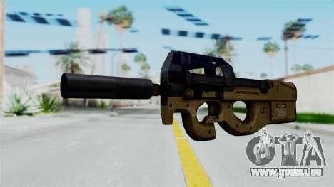 P90 Sand Frame für GTA San Andreas