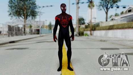 Marvel Future Fight Spider Man Miles v1 pour GTA San Andreas deuxième écran