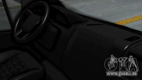 Fiat Ducato Pickup pour GTA San Andreas vue de droite