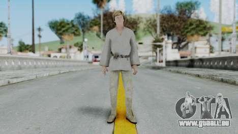 SWTFU - Luke Skywalker Tattoine Outfit pour GTA San Andreas deuxième écran