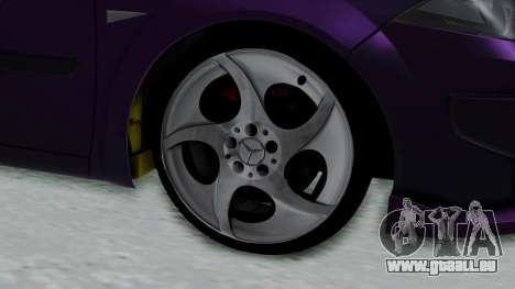 Renault Megane II für GTA San Andreas zurück linke Ansicht