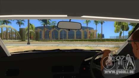 Nissan S13 Zenki pour GTA San Andreas vue intérieure