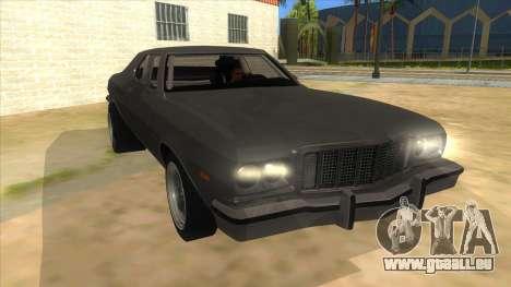 Ford Gran Torino Drag pour GTA San Andreas vue arrière
