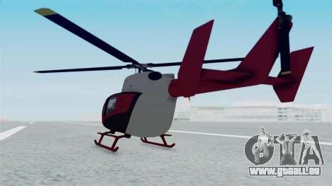 GTA 5 Super Volito für GTA San Andreas linke Ansicht