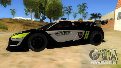 Renault Sport RS 01 INTERCEPTOR für GTA San Andreas linke Ansicht