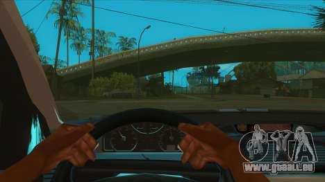 Renault Laguna Mk2 Vitesse Automatique Škola pour GTA San Andreas vue intérieure