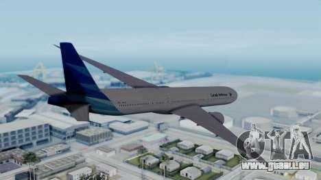 Boeing 777-9U3(X) Garuda Indonesia für GTA San Andreas linke Ansicht