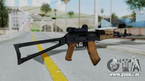 Arma2 AKS-74 Cobra pour GTA San Andreas deuxième écran