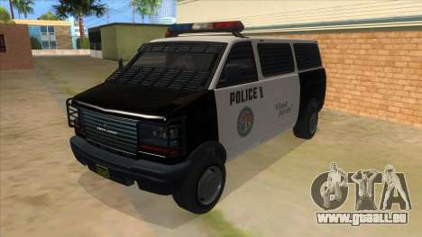 GTA 5 Burrito Transport pour GTA San Andreas
