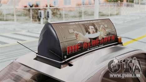 GTA 5 Vapid Stanier II Taxi IVF für GTA San Andreas Innenansicht