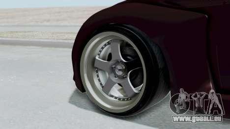 Toyota GT-86 Rocket Bunny pour GTA San Andreas sur la vue arrière gauche