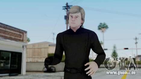 SWTFU - Luke Skywalker Jedi Knight pour GTA San Andreas