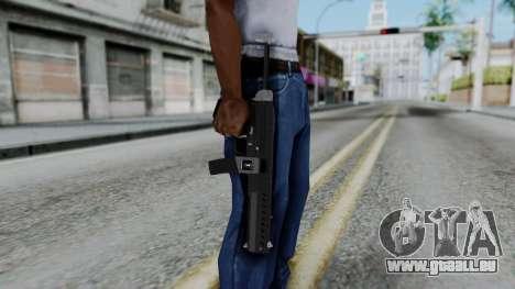 GTA 5 Combat PDW - Misterix 4 Weapons pour GTA San Andreas troisième écran