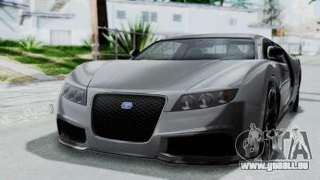 GTA 5 Truffade Adder v2 SA Lights für GTA San Andreas