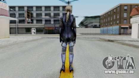 Jill Valentine Battlesuit Closed RE5 für GTA San Andreas dritten Screenshot