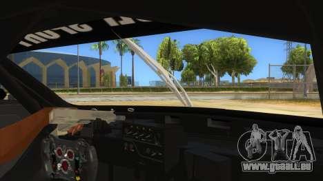 Renault Sport RS 01 INTERCEPTOR pour GTA San Andreas vue intérieure