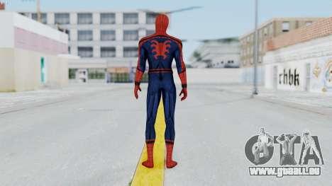 Civil War Spider-Man pour GTA San Andreas troisième écran