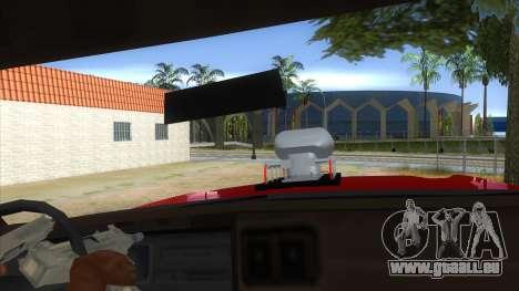 1974 Dodge Monaco Monster Truck pour GTA San Andreas vue intérieure