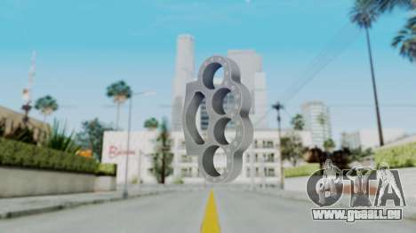 The Rock Knuckle Dusters from Ill GG Part 2 pour GTA San Andreas