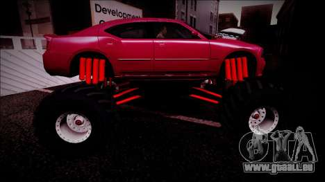 2006 Dodge Charger SRT8 Monster Truck für GTA San Andreas Motor