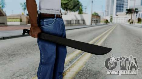 No More Room in Hell - Machete pour GTA San Andreas