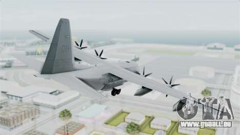 KC-130J Harvest Hawk für GTA San Andreas linke Ansicht